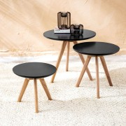 Viborg round side tables D